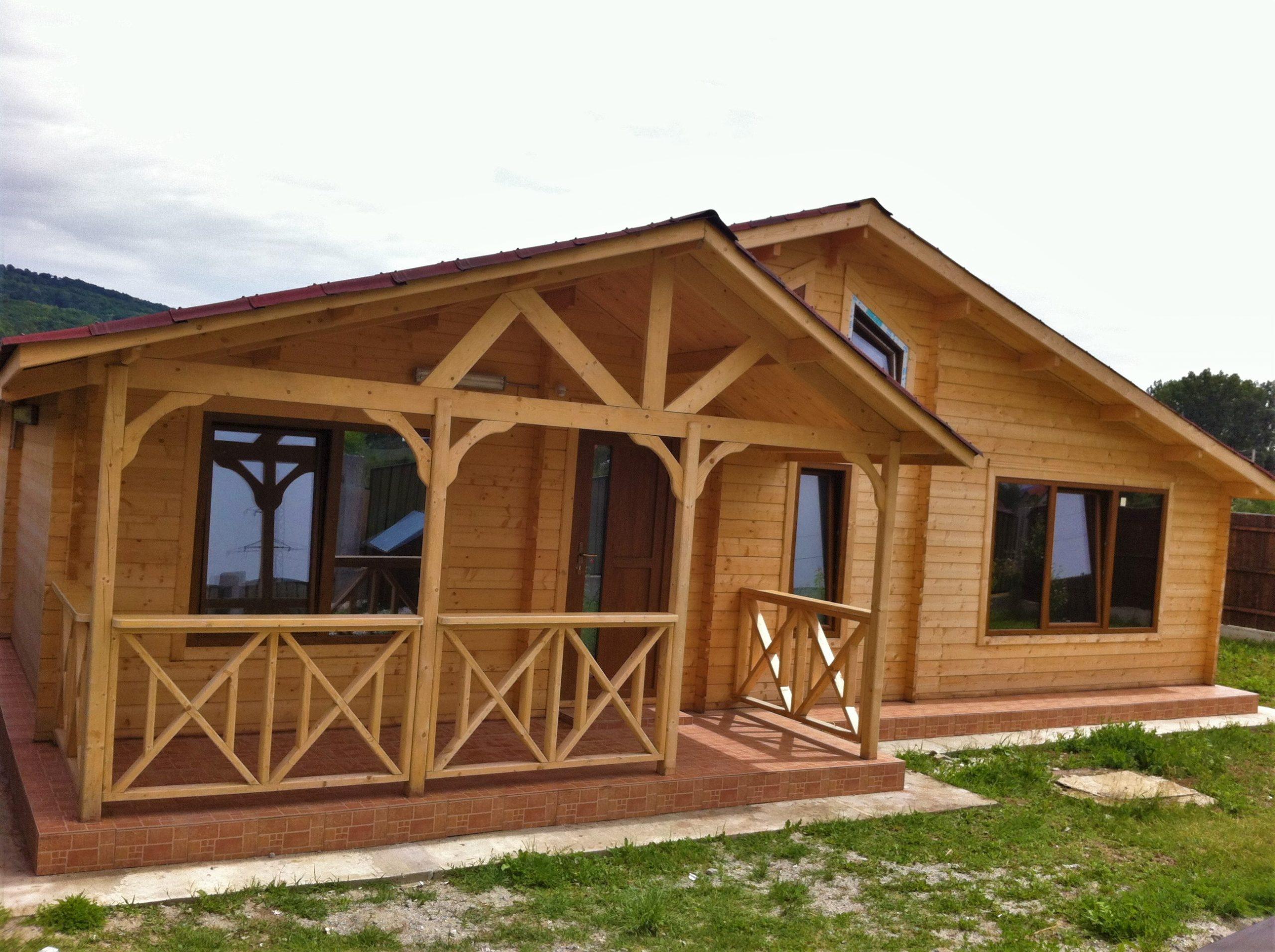 Casa ecologica din lemn